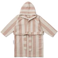 Liewood Dana Bathrobe Stripe Tuscany Rose/Sandy