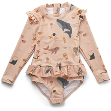 Liewood Sille Swimsuit Sea Creature Rose Mix
