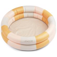Liewood Leonore Pool Stripe: Peach/Sandy/Yellow Mellow