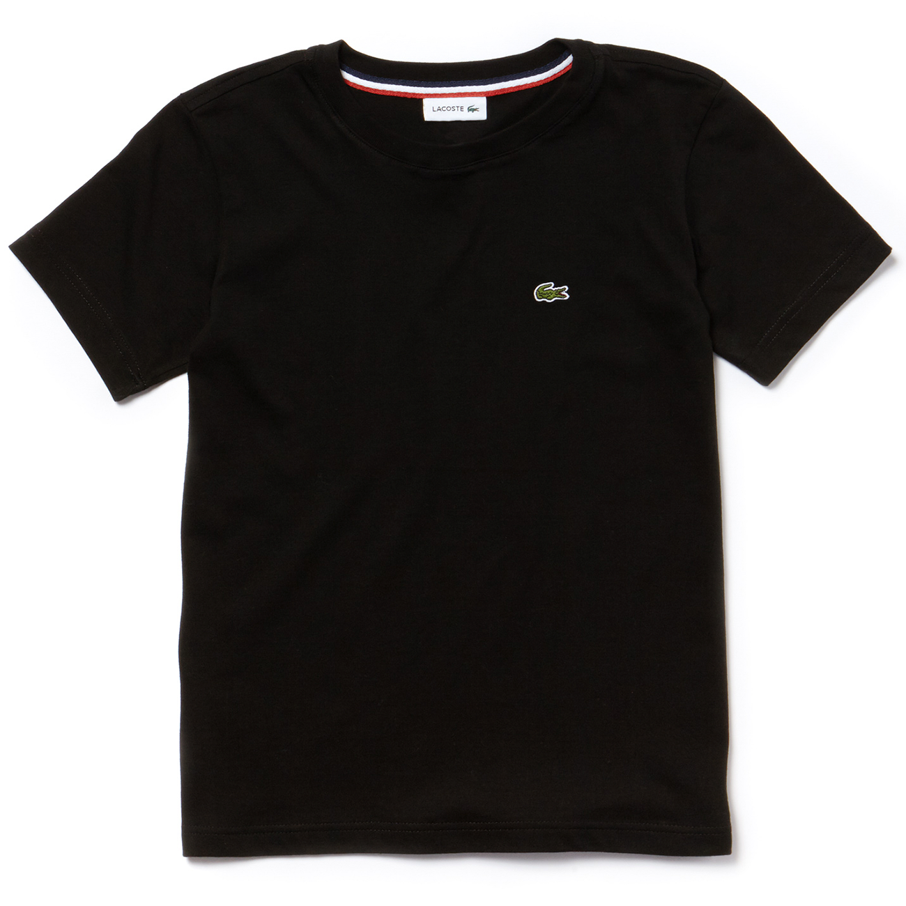 ab71e491a45510 Lacoste-t-shirt-tee-black-sort ...