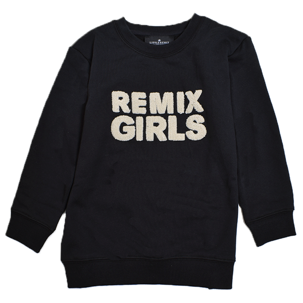 Little Remix Remix Sweatshirt Black