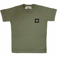 Stone Island Junior T-shirt Musk Green