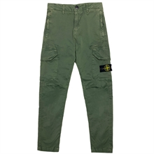 Stone Island Junior Pants Musk Green