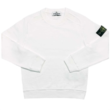 Stone Island Junior Sweatshirt White