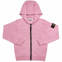 Stone Island Junior Sweatshirt w. Zipper Rose