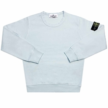 Stone Island Junior Sweatshirt Light Blue