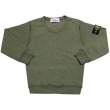 Stone Island Junior Sweatshirt Musk Green