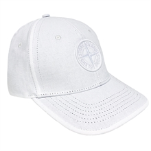 Stone Island Junior Cap White