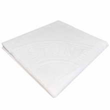 Stone Island Junior Beach Towel White