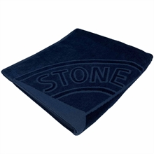 Stone Island Junior Beach Towel Navy