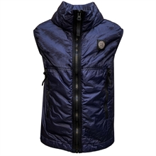 Stone Island Junior Vest Navy