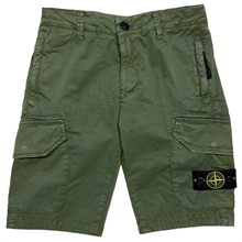Stone Island Junior Bermuda Shorts Musk Green