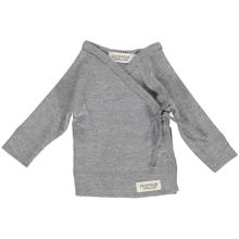 MarMar New Born Tut Wrap LS (grey melange)