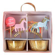 Meri Meri Unicorn Cupcake Kit Baby 24 pcs