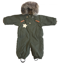 Mini A Ture Wisti Fur Snowsuit Grape Leaf