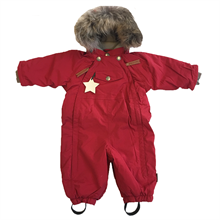 Mini A Ture Wisti Fur Snowsuit Scooter Red