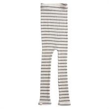 Minimalisma Wool Arona Leggings Grey Stripes