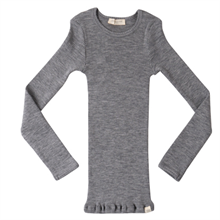 Minimalisma Wool Atlantic Blouse Grey Melange