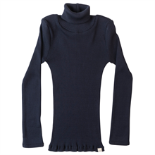 Minimalisma Bui Turtleneck Blouse Dark Blue
