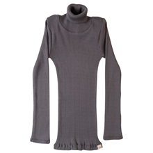Minimalisma Bui Turtleneck Blouse Dark Grey