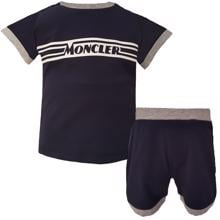Moncler Completo T-shirt Shorts Set Navy