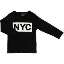 Petit by Sofie Schnoor Black NYC T-Shirt LS