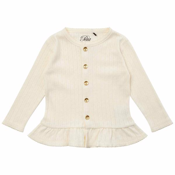 Petit by Sofie Schnoor Off White Eugenie Cardigan