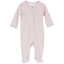 Serendipity Baby Stripe Pre Suit Powder/Offwhite