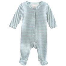 Serendipity Newborn Lake/Offwhite Stripe Suit