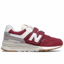 New Balance Burgundy Heritage Sneakers