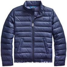 Polo Ralph Lauren Girl Quilted Down Jacket Navy