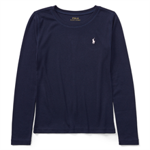 Polo Ralph Lauren Girl LS Tee French Navy
