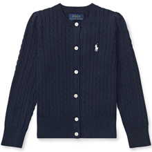 Polo Ralph Lauren Girl Cardigan Mini Cable Navy