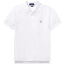 Polo Ralph Lauren Boy Short Sleeved Classic Polo White