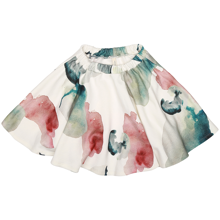 Popupshop Water Flower Circle Skirt