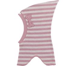 Racing Kids Balaclava Top Bow 1-layer Dusty Rose/Shimmer Rose