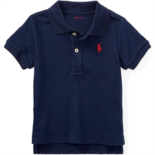 Ralph Lauren Baby Boy Short Sleeved Polo French Navy