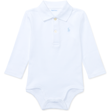 Ralph Lauren Baby Boy Long Sleeved Body White Light Blue