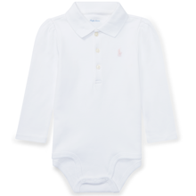 Ralph Lauren Baby Girl Long Sleeved Body White