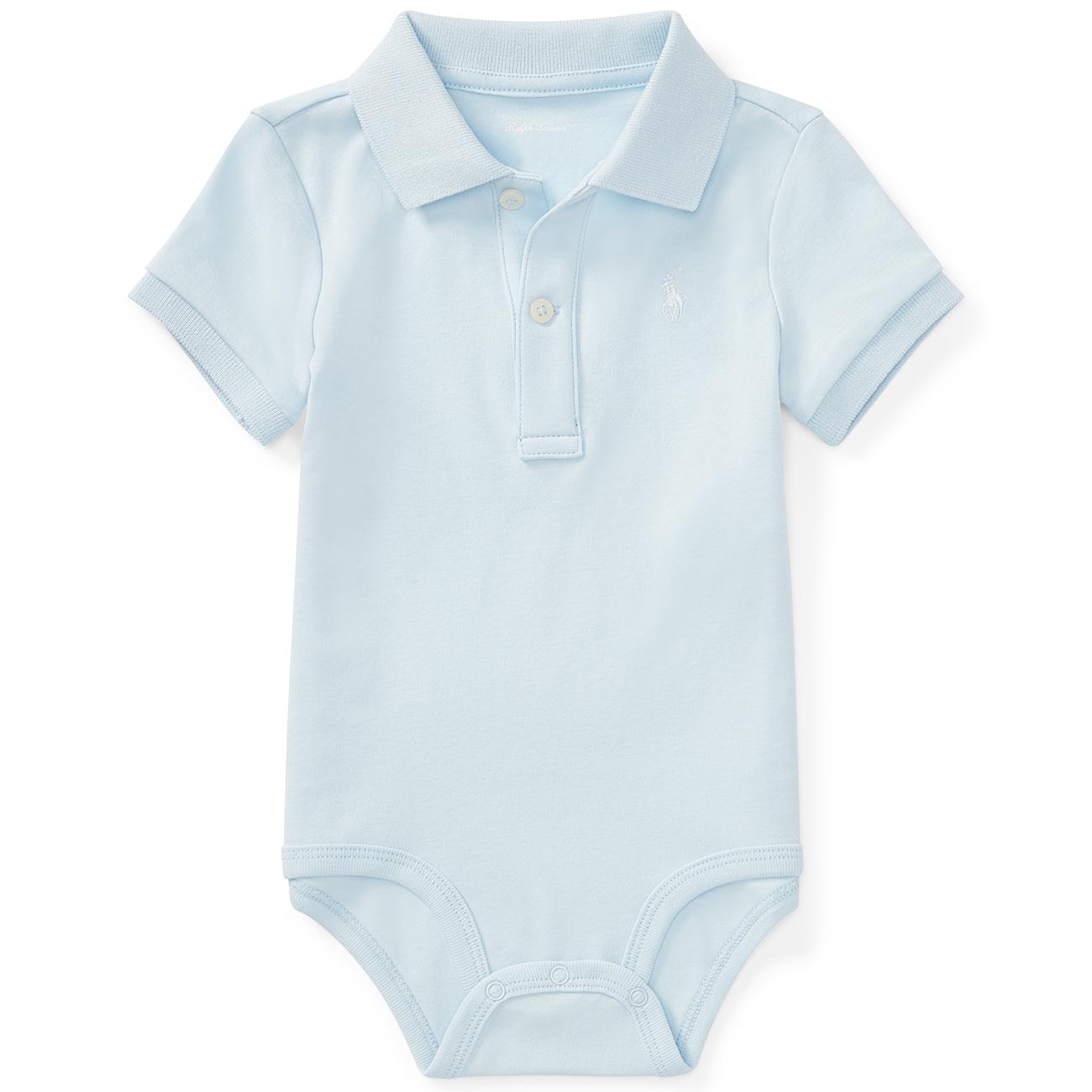 Ralph Lauren Baby Boy Short Sleeved Body Blue