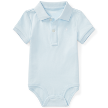 Ralph Lauren Baby Boy Short Sleeved Body Blue