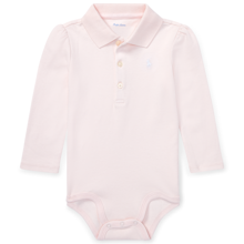 Ralph Lauren Baby Girl Long Sleeved Body Pink
