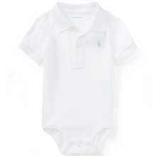 Ralph Lauren Baby Boy Short Sleeved Body White