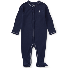 Ralph Lauren Baby Boy Coverall Suit Solid French Navy