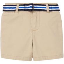 Ralph Lauren Baby Boy Shorts Belt Khaki