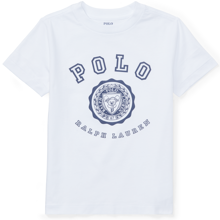 Polo Ralph Lauren Boy Short Sleeved T-shirt Graphic White
