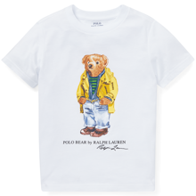 Polo Ralph Lauren Boy Short Sleeved T-shirt Bear Yellow