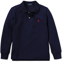 Polo Ralph Lauren Boy Long Sleeve Polo Navy