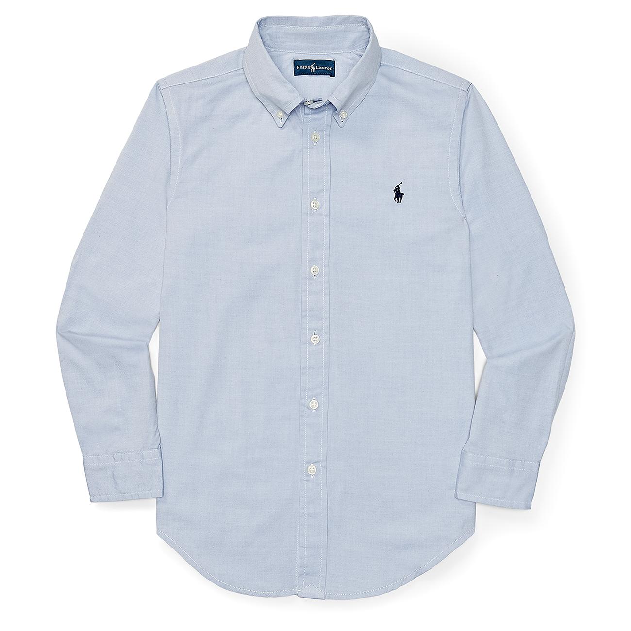 9460be50 Polo Ralph Lauren Boy Long Sleeved Blake Shirt BSR Blue
