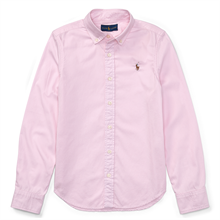 Polo Ralph Lauren Girl Oxford Shirt Deco Pink